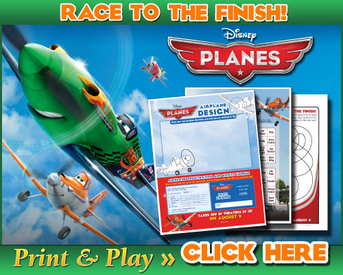 FREE Printable Disney Planes Coloring Pages and Activities