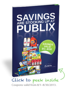 publixbooklet 243x300 Publix: FREE Coupon Booklet For P&G Products ($50 In Savings on Favorite Brands)