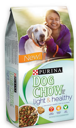 purina FREE Purina Dog Chow Light & Healthy Food Sample