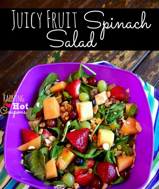 Fruit Spinach Salad Recipe
