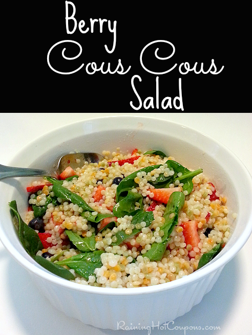 salad Summer Vegetarian Recipes: Berry Cous Cous Salad