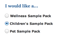 sample 2 FREE Nordic Naturals Sample Pack (Childrens, Wellness or Pet Pack)