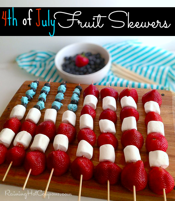 skewers 4th Of July Fruit Skewers Recipe