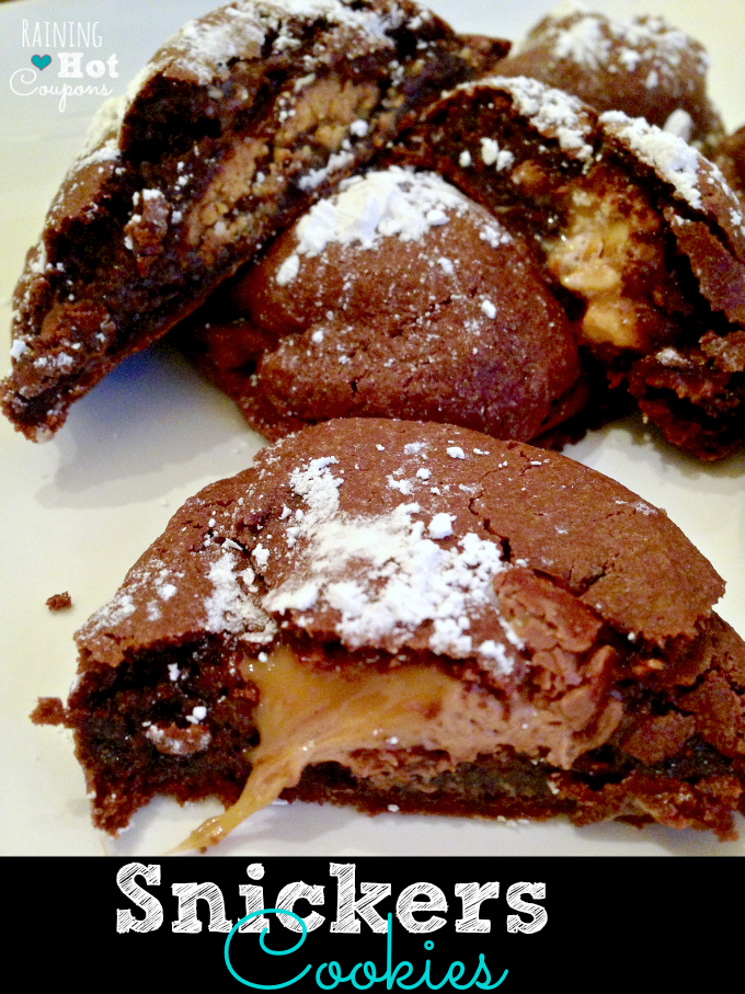 snickers cookies Snickers Cookies Recipe