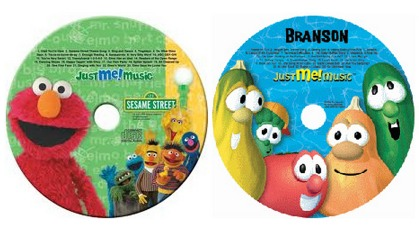 FREE Personalized Elmo or VeggieTales Songs! (With Your Kids Name)
