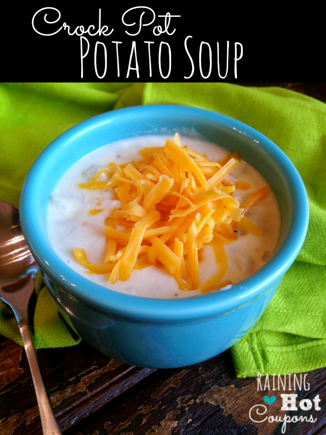 Paula Deen's Crock Pot Potato Soup Recipe