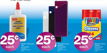 staples Staples Back to School Deals 7/21/13