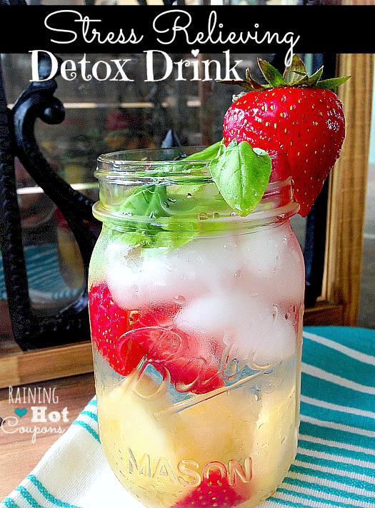stress detox drink