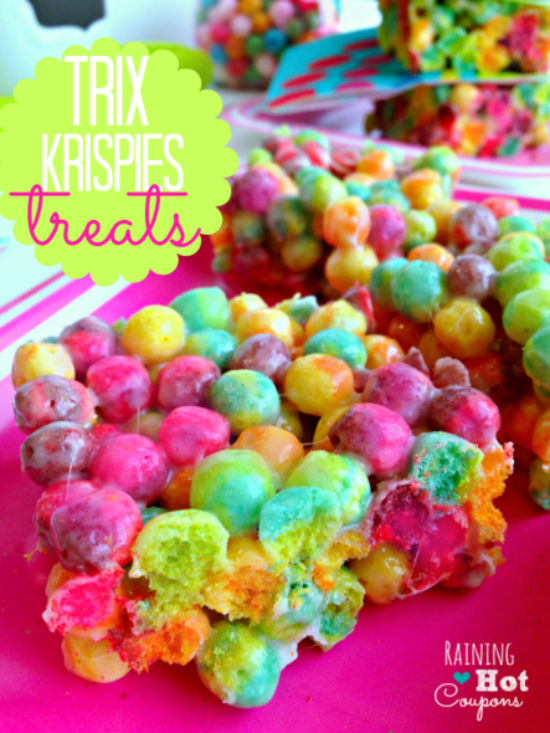 Trix Krispie Treats Recipe