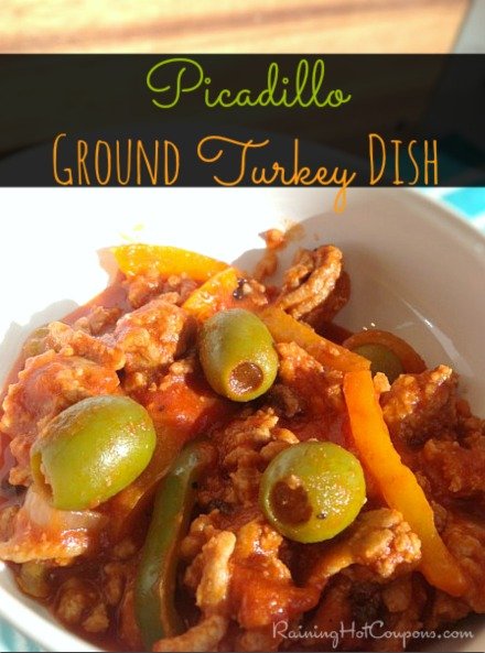 Picadillo Recipe (Ground Turkey or Beef Dish)