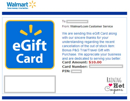 Did You Get a FREE $10 Walmart Gift Card?!?! (Check Your Emails!!!)