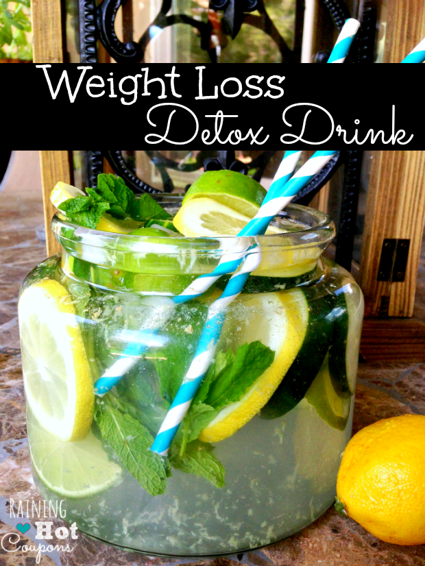 weight drink 2 Weight Loss Detox Drink Recipe
