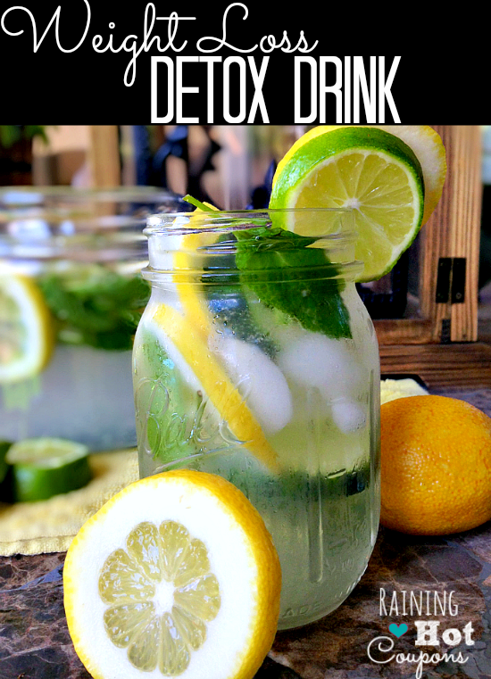 Weight Loss Detox Drink Recipe - This weight loss detox drink makes you feel better and is very refreshing.