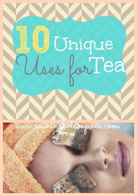 10 unique uses for tea