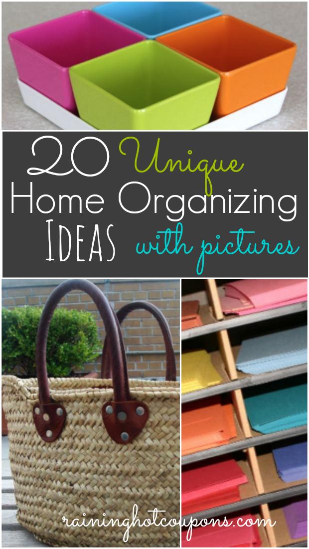 20 unique home organizing