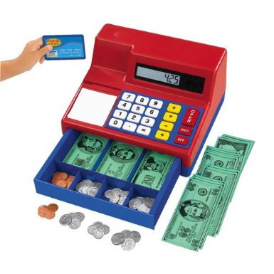 519u+czEeoL. SX385  Amazon: Learning Resources Pretend & Play Calculator Cash Register Only $24.36 (Reg. $39.99)