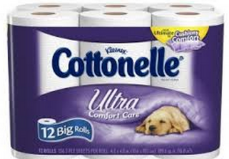 COTTON *HOT* Cottonelle Big Rolls Toilet Paper 12 pack ONLY $2.50!
