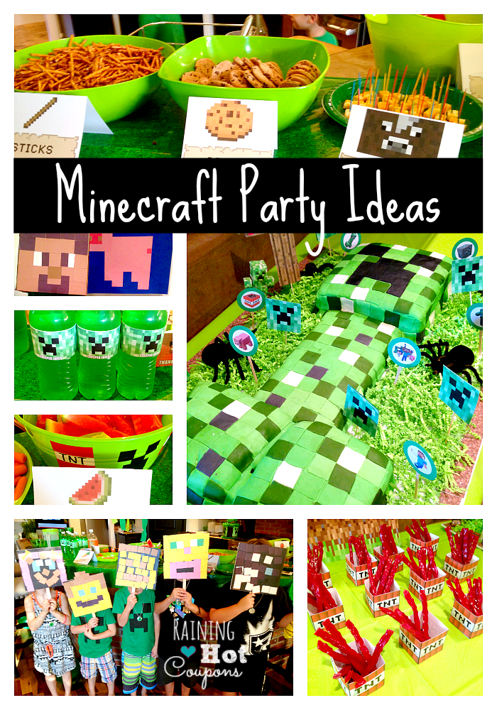 MINECRAFT Party Minecraft Party Ideas