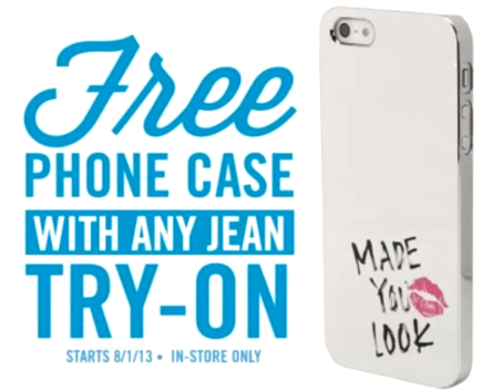 newest e3048 409ef FREE Phone Case from Aeropostale!