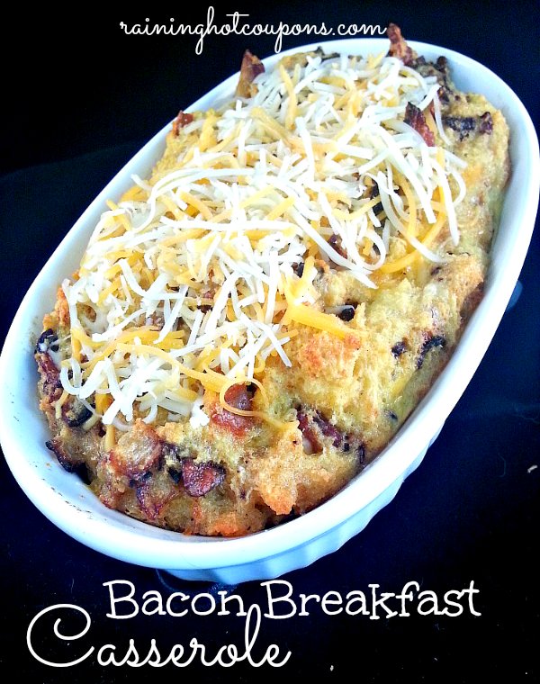bacon breakfast casserole Bacon Breakfast Casserole Recipe
