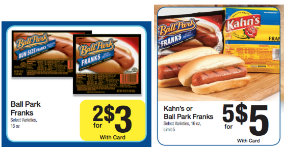 ball park FREE Ball Park Franks with New Coupon at Kroger!