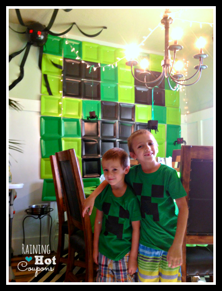 boys1 Minecraft Party Ideas