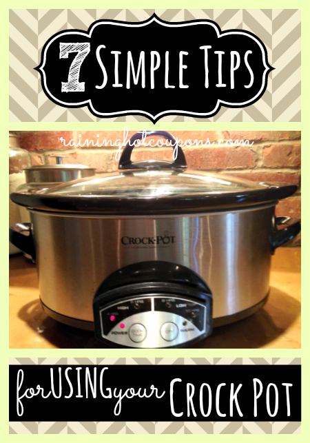 crock pot tips