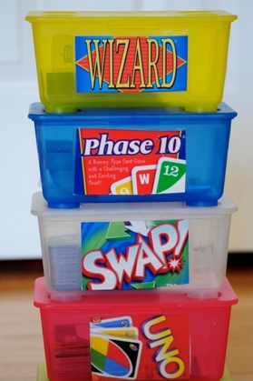 games 20 Unique Home Organizing Ideas with Pictures!