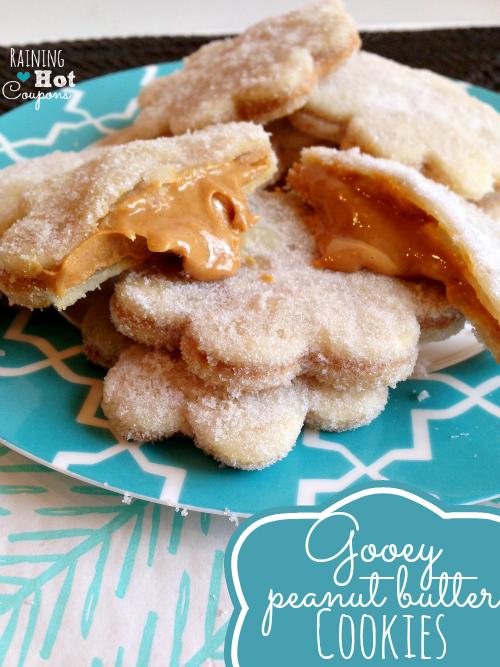gooey peanut butter cookies