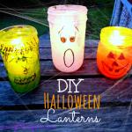 Adorable Halloween Jar Lanterns