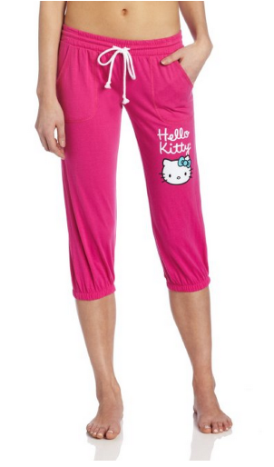 hello kitty1 Amazon *HOT*  Hello Kitty Womens Solid Capris Only $6.26 (Reg. $23.00!)