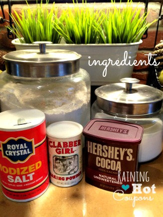 ingredients DIY Homemade Brownie Mix