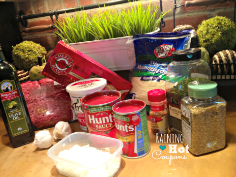 ingredients lasagna, crock pot, How to make lasagna