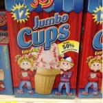 $0.55/1 Joy Ice Cream Cones Coupon = Ice Cream Cones Only $0.45 Per Box at Walmart