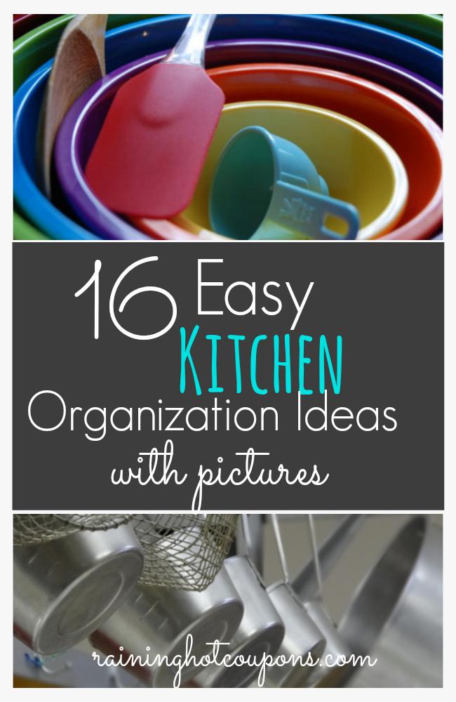 breathtaking easy kitchen organization ideas | 16 Easy Kitchen Organization Ideas and Tips with Pictures!
