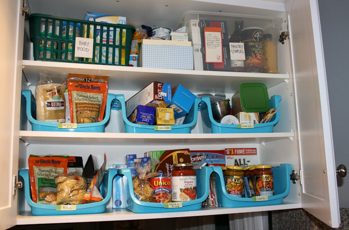 16 easy kitchen organization ideas and tips with pictures for Cheap kitchen organization ideas
