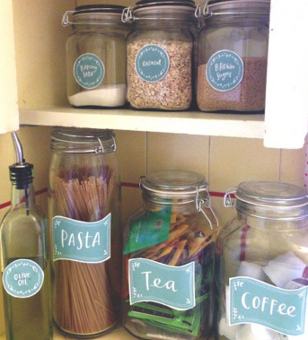 labels 16 Easy Kitchen Organization Ideas and Tips with Pictures!