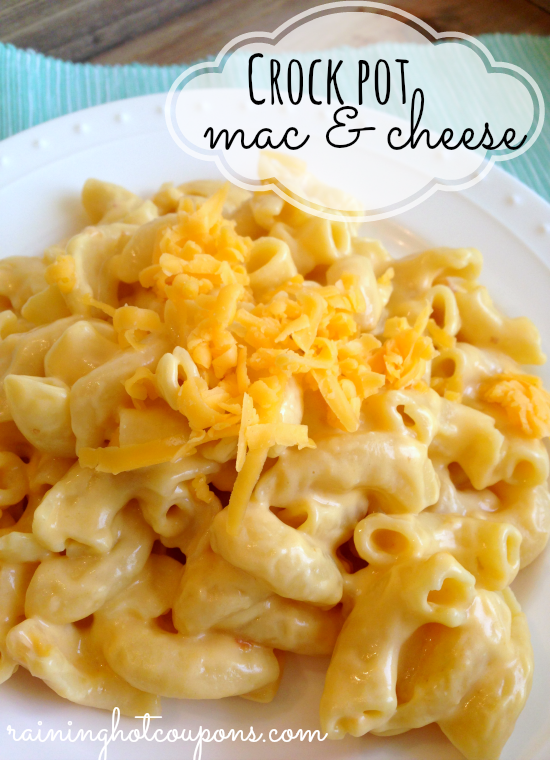 Crock Pot Macaroni and Cheese EASY Recipe