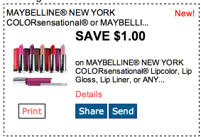 maybelline FREE Maybelline New York Eye Shadow Sticks at Dollar Tree!