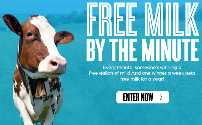 milk1 FREE Gallon of Milk Coupon $4.00 Value! (82,080 Winners)