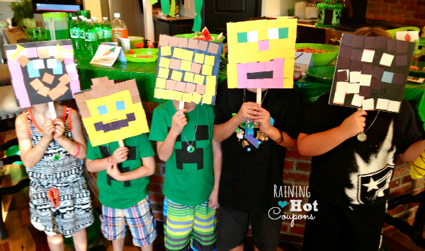 minecraft crafts Minecraft Party Ideas