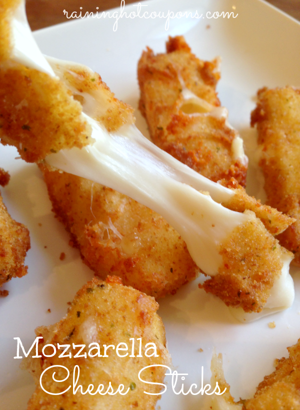mozzarella cheese sticks Homemade Mozzarella Cheese Sticks