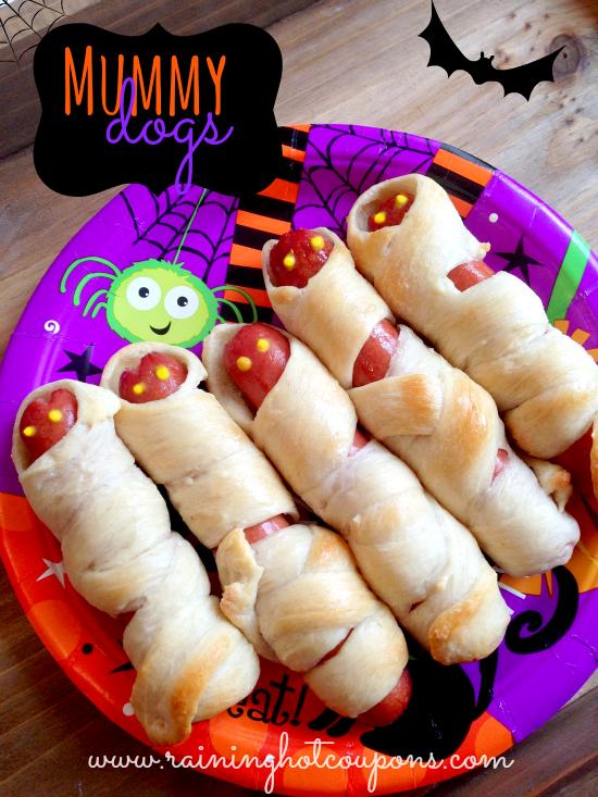 mummy dogs halloween