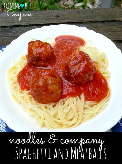 noodles & company spaghetti