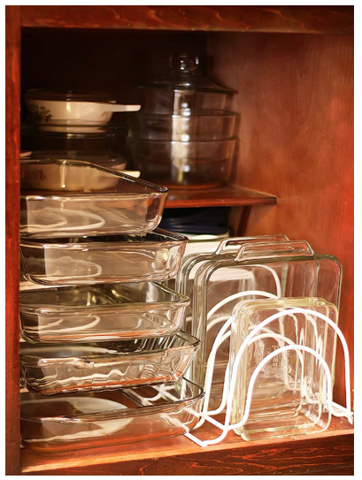 pans 16 Easy Kitchen Organization Ideas and Tips with Pictures!