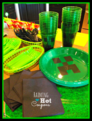 plates1 Minecraft Party Ideas