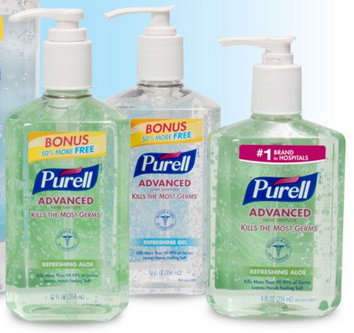 purell New $1/1 Purell Hand Sanitizer Coupon = As Low As $1.00 at Staples