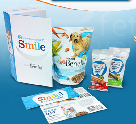 sample1 *HOT* FREE Beneful Healthy Smile Dog Food and Snacks sample package!