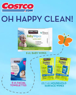 Free Baby Wipes Facial Towelettes And Household Surface