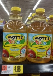 screen shot 2013 08 12 at 3 59 34 pm *HOT* $1.50/1 ANY Mott's for Tot's Juice Coupon = As Low as Only $0.38 at Walmart
